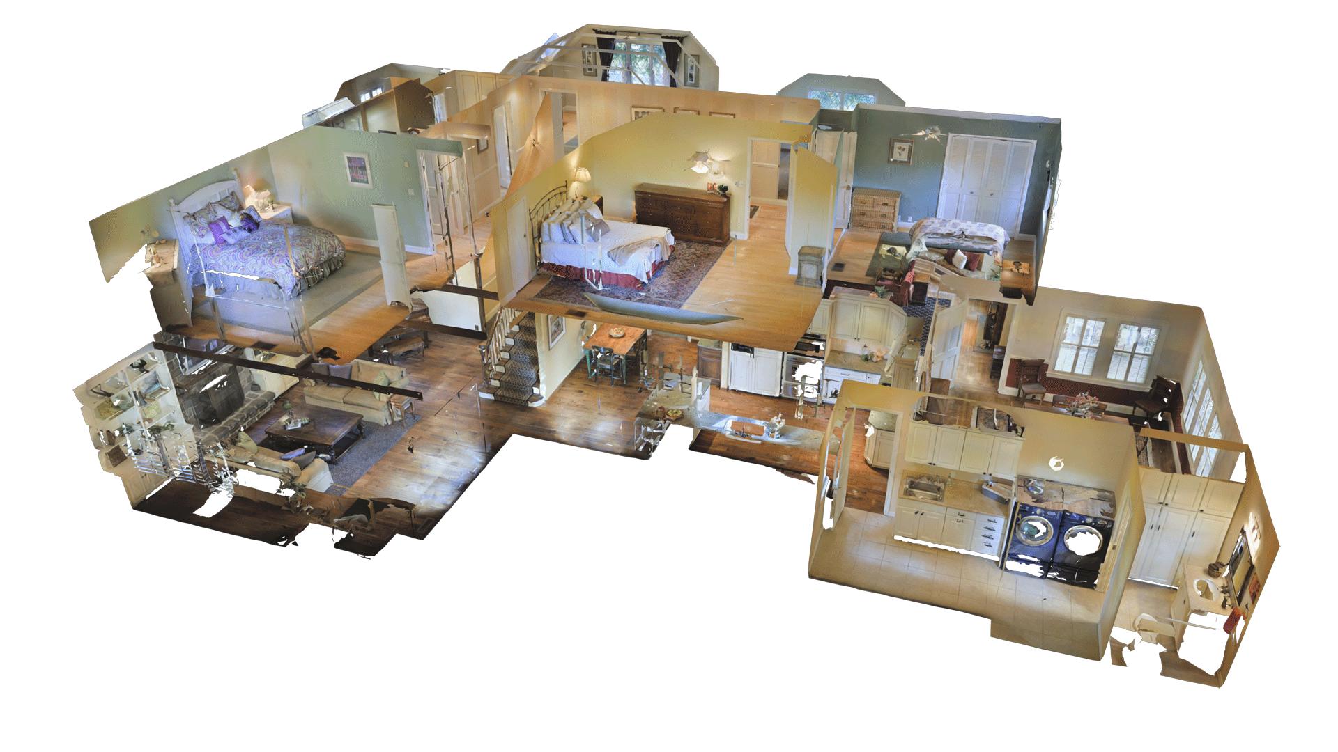 Matterport 3D Dollhouse